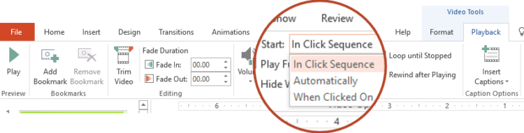 PowerPoint in Click Sequence On Click