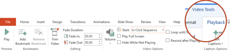PowerPoint When Clicked On