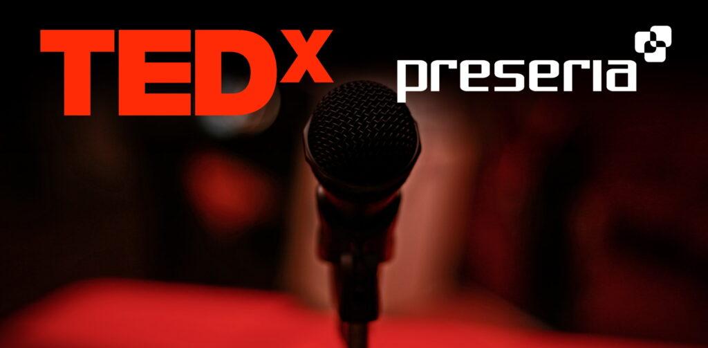 tedx talk preseria sponsor